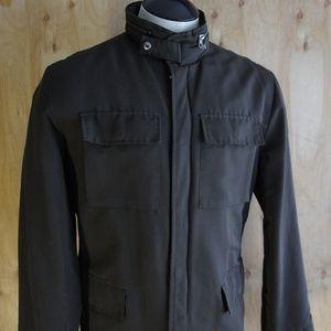 Men's GAP Rain/Field Jacket/ Dark Brown/ Size 42